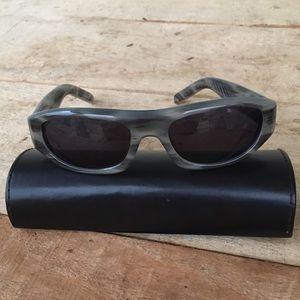 Spy optic Victoria sunglasses marbled gray frames
